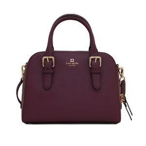 Kate Spade-Cove Street Small Felix in Mulled Wine